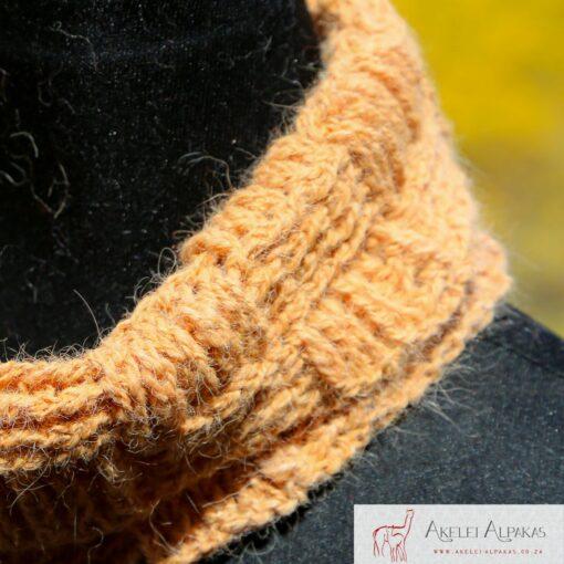 Alpaca Cowl Orange