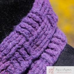 Alpaca Cowl Purple