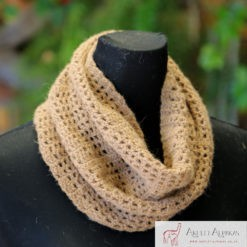 Alpaca Cowl Light Brown
