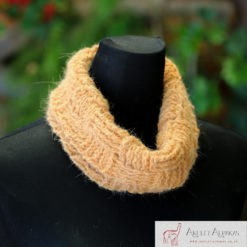 Alpaca Cowl Orange