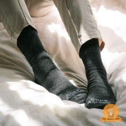 Alpaca Daily Socks Black