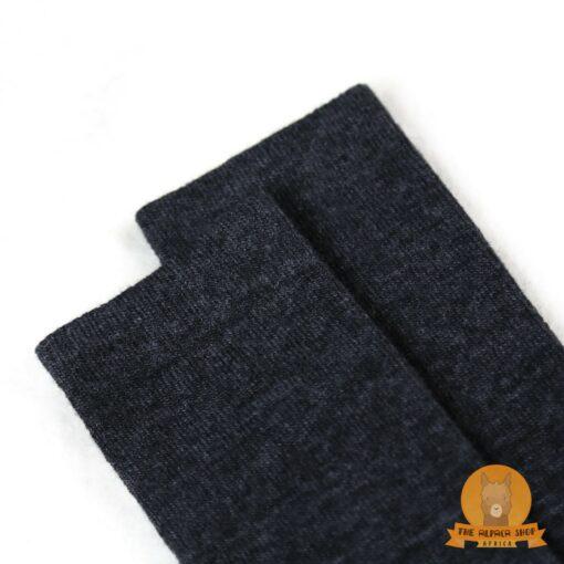 Alpaca Daily Socks Black
