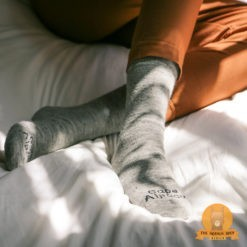Alpaca Daily Socks Grey