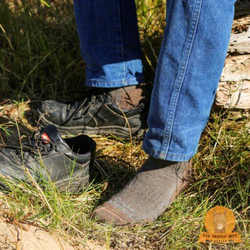 Alpaca Hiking Socks Brown