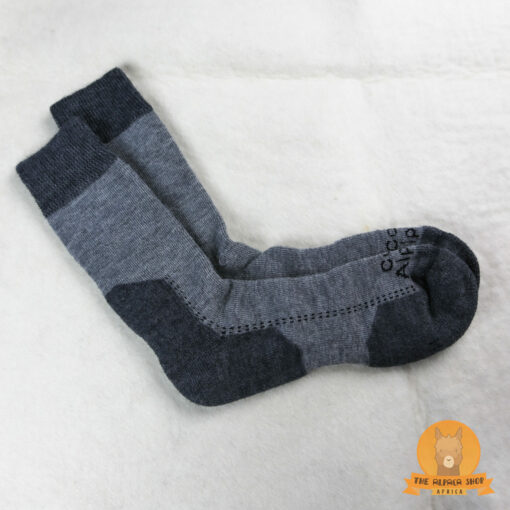 Alpaca Hiking Socks Grey